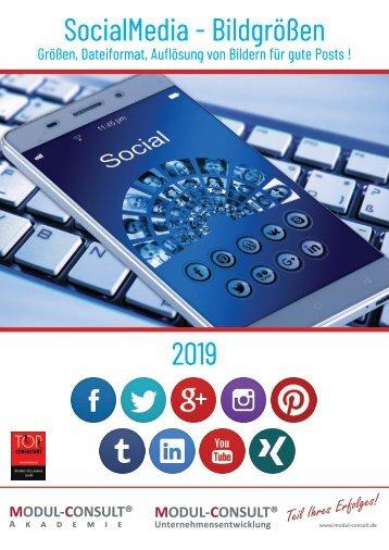 MODUL-CONSULT.de - SocialMedia - Bildgrößen - 2019