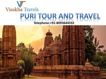 Enjoy Your Puri Tour and Travels with Visakha Travels