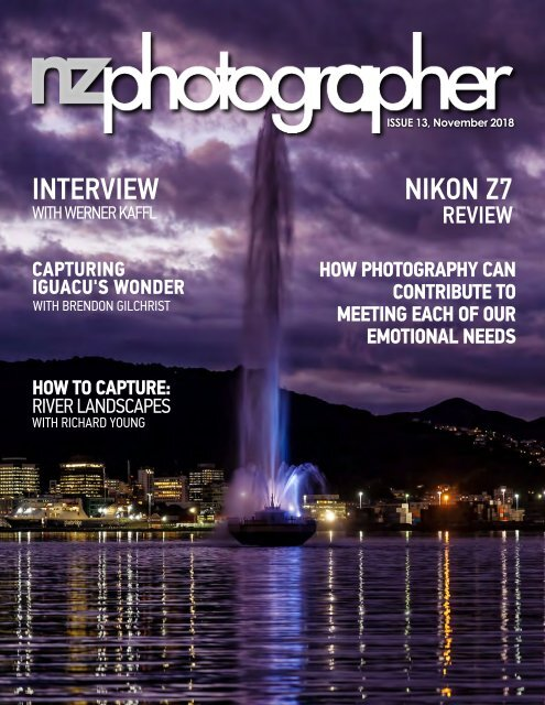 NZPhotographer Issue 13, November 2018