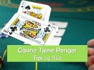 Casino Make Money Tips and Advice