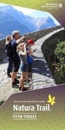 Natura Trail Pfyn Finges FR