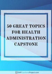 expert-health-administration-capstone-ideas