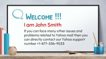 Yahoo Mail Help Desk Support Number USA +1-877-336-9533