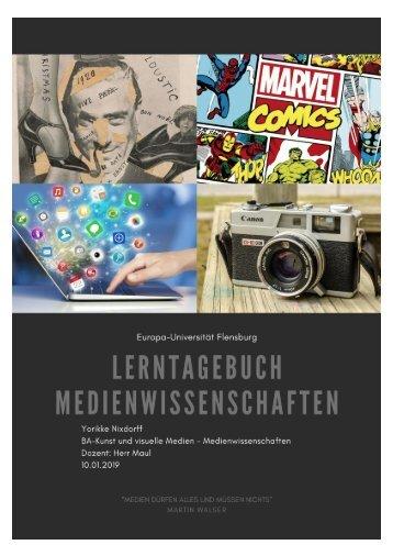 Lerntagebuch Medienwissenschaften