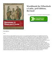 For the wheelock s latin pdf sorry, that