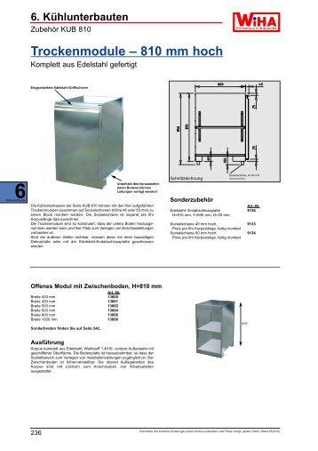 6. Kühlunterbauten 6Kühlunterbauten - wiha-thekentechnik