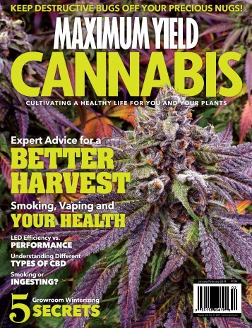 Maximum Yield Cannabis | USA Edition | Vol. 02 Issue 01 2019
