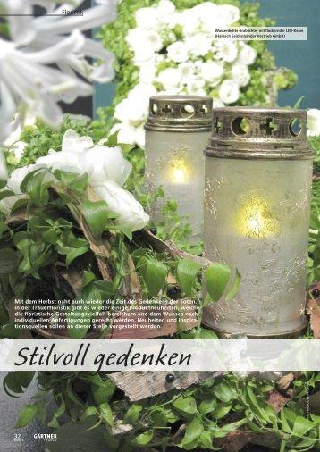 Stilvoll gedenken - Halbach®  Seidenbänder