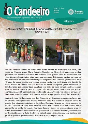 MARIA BENEDITA UMA APAIXONADA PELAS SEMENTES CRIOULAS