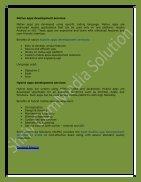 Mobile app development services - Page 3