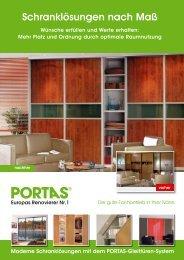 PORTAS Gleittüren-Programm 2019