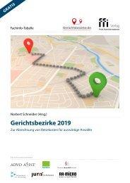 Fachinfo-Tabelle Gerichtsbezirke 2019