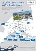 Urlaubszeit - Schnell & komfortabel ab St.Gallen-Altenrhein - Seite 3