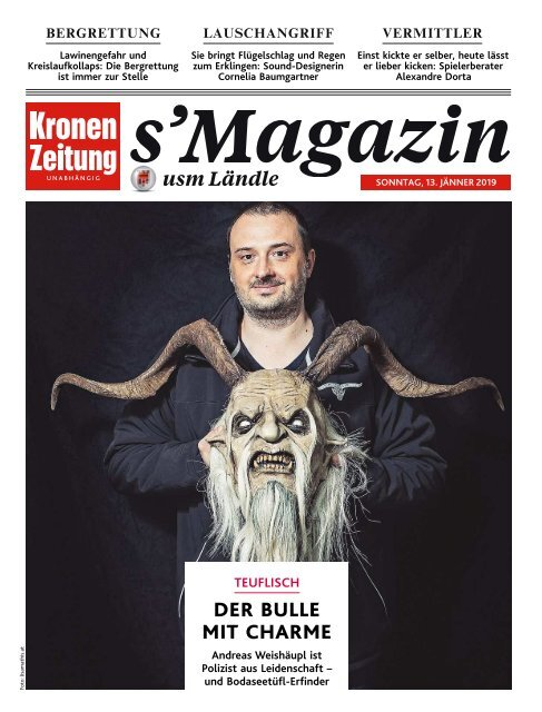 s'Magazin usm Ländle, 13. Januar 2019