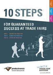 productronica // 10 steps for guaranteed success at trade fairs
