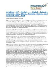 Aviation IoT Market