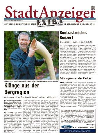 Stadtanzeiger Extra kw 2