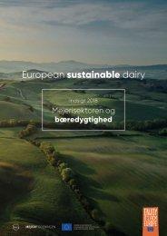 European Sustainable Dairy: Indsigt 2018 - Mejerisektoren og bæredygtighed