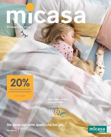 Micasa Spring Textil Flyer 2019 IT