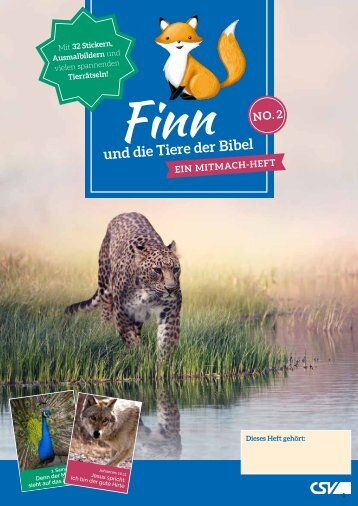 Finn und die Tiere der Bibel (NO. 2)