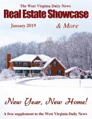 The WV Daily News Real Estate Showcase & More - January 2019