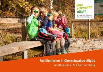 Familienferien Oberschwaben-Allgäu 2019