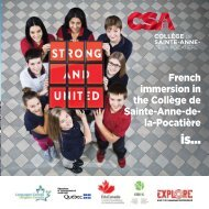 CSA Brochure EN 2019-2020
