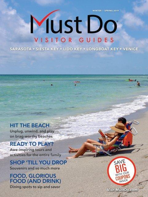 Must Do Sarasota Visitor Guide Winter/Spring 2019