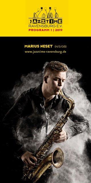 Jazztime Ravensburg Programm 01/2019