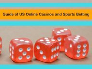 Guide of US Online Casinos and Sports Betting
