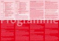 Programme August September 10 - Radialsystem V