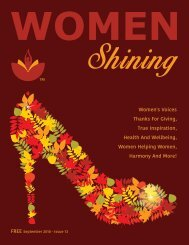 Women Shining Magazine - Fall 2018