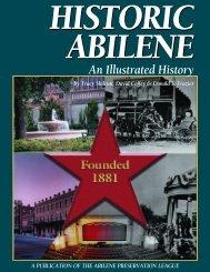 Historic Abilene: An Illustrated History