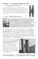 BaSys - Bartels Systembeschläge: innovations at BAU 2019 - Page 2