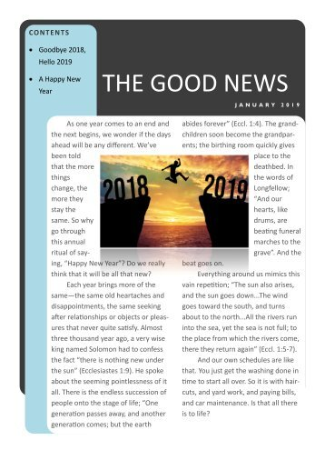 Goodenf News January 2019