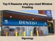 Top 6 Reasons why you need Window Frosting