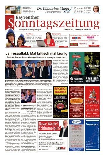 2019-01-13 Bayreuther Sonntagszeitung