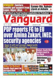 12012019 - PDP reporters FG to EU over Amina Zakari, INEC, security agencies