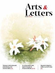 Arts & Letters, January 2019