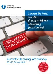 Growth Hacking Seminar 26. - 27. Februar 2019