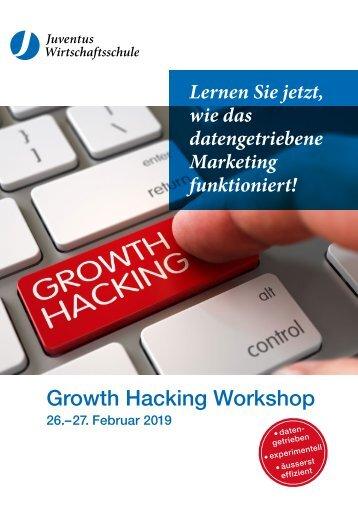 Growth Hacking Seminar 26. - 27. Februar 2019