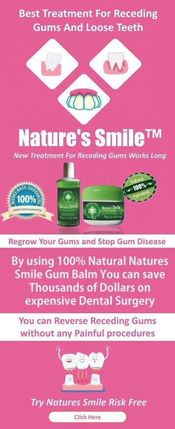 Receding Gums Treatment Natural