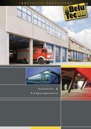Industrie- & Tiefgaragentore I n n o v  a t I ... - Belu Tec