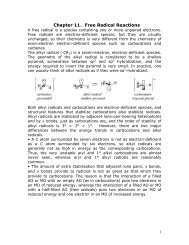 Chapter 11. Free Radical Reactions - Chemistry