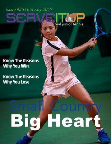 Serveitup tennis Magazine #36