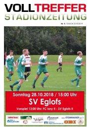 5. Ausgabe Stadionzeitung 2018/19