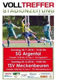 7. Ausgabe Stadionzeitung 2018/19