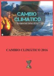 Cambio climático 2016