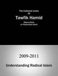 Understanding Radical Islam - Dr. Tawfik Hamid