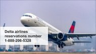 Delta airlines reservations number 1-888-206-5328